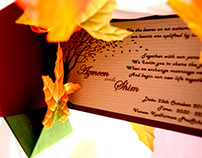 AZMEEN weds SHIM- ( Wedding Card )