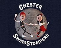 SwingStompers Logos