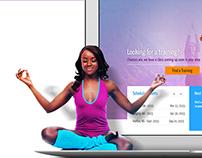 Yogafit Responsive design