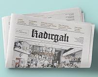 Kadırgalı Gazete Menü 2016