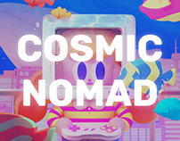 COSMIC NOMAD LAB : CONCEPT ILLUSTRATION