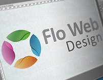 Flo Web Design Logo