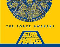 Star Wars - Millennium Falcon Posters