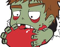 Zombie has my heart