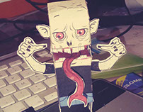THE STRAIN PAPERTOY