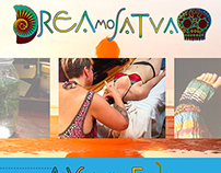 DreamoSatva Logo & Website Design