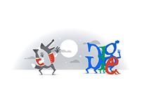 Google Doodles - Halloween