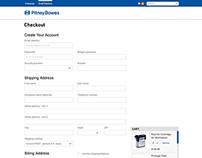 e-Store checkout - Pitney Bowes