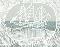 Out at Sea illustration