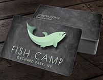 Fish Camp Logo Design
