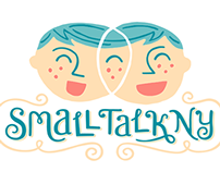 Small Talk NY Branding