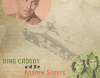 "12"" LP Record (Bing Crosby & The Andrew Sisters)"