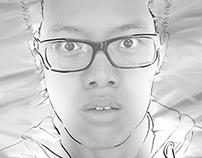 Creative Self Portraits: Smudge Shock