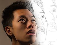 Creative Self Portraits: Dissolve Shock