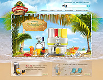 Margaritaville Cargo Website