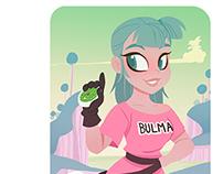 Bulma and Oolong