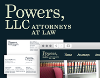 Powers, LLC Identity & Website
