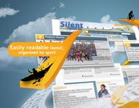 Silent Sports insert ad
