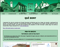 Web Associació de Veïns de Ca n'Aurell