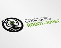Logo concours Robot-Jouet - CRJ