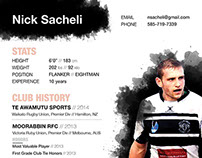 Rugby Resume