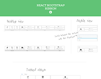 React Bootstrap Ribbon