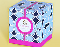 C Wonder Signature Candle Packaging Design
