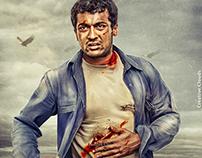 Ayan Tamil Movie Poster Design