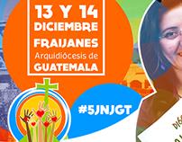 Creación de Imagen para la 5ta JNJ Guatemala