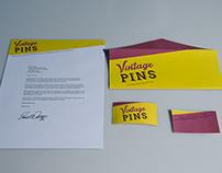 Vintage Pins Logotype
