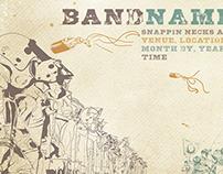 Concert poster design