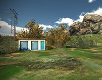 Real Time 3D Environment for stereoscopic app