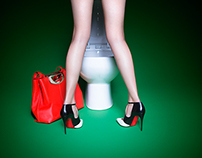 "PLASTIK Magazine's ""Lady in the Loo"""