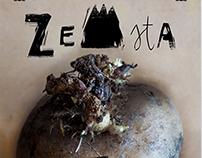 """""""Zemsta"""" plakat teatralny / """"Vengeance"""" theatre poster"""