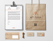 Brand indentity for ART PLAZA