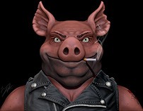 Porker The Pig