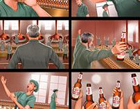 Tyskie storyboard