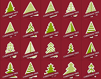 40 Free Christmas Tree Vectors 2014
