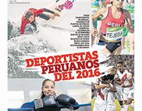 DEPORTISTAS PERUANOS 2016