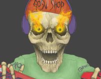 t-shirt print (for gosu-shop)