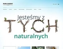 Water Park Tychy - landing page