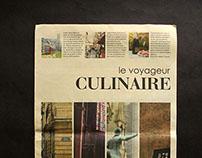 Le Voyageur Culinaire - A Tabloid Design