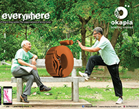 Okapia It's Everywhere Campaign
