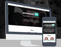 Autoescuela VIP - Responsive web design