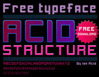 Free font Acid Stucture