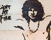 Pyrography - Jim Morrison