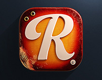 Reverb.com IOS 3D Icon