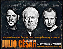 "Theater: ""JULIO CÉSAR"", by William Shakespeare"