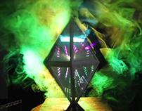 Volumetric Projection Sculpture