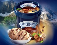 London Dairy - Hazelnut Launch Campaign